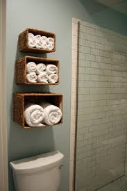 bathroom creative bathroom towel storage bathroom makeovers with