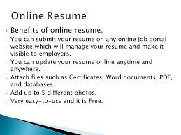 Free Online Resumes For Employers by Open The Door To Opportunity Ppt Download