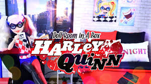 How To Make Doll Kitchen Diy How To Make Doll Room In A Box Harley Quinn Craft 4k
