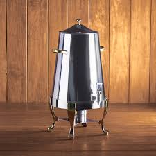 coffee urn rental polished chrome gold coffee urn 100 cup rental peerless