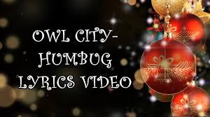 owl city humbug lyrics