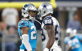 nfl panthers cb josh norman says dez bryant should give back his