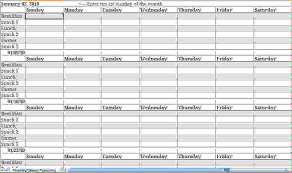 weekly planner excel template documents and pdfs