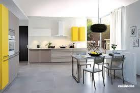deco cuisine grise et deco cuisine gris et jaune waaqeffannaa org design d intérieur