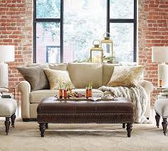 chase tufted rug natural pottery barn