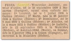 Décrets De 1950 Retour Vers Le Passé Connaître Le Dé De Naturalisation De Vos Ancêtres Avec Gallica