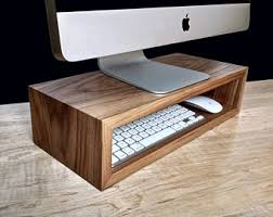 Computer Stand For Desk Computer Stand Etsy