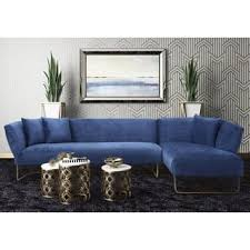 Blue Sectional With Chaise Blue Sectional Sofas Shop The Best Deals For Nov 2017