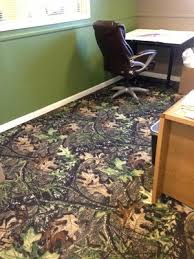 cover your floor with mossy oak camo carpet
