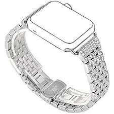 rhinestone bands kartice for apple band alloy rhinestone