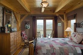 Timber Frame Bed Black Builders Home Interiors Gallery Black Builders