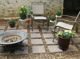Cool Backyard Ideas On A Budget Backyard Marvellous Brown Round Unique Soil Stone Cool Ideas
