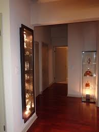 Display Cabinets With Lights A Recessed Bertby Display Cabinet Ikea Hackers Ikea Hackers