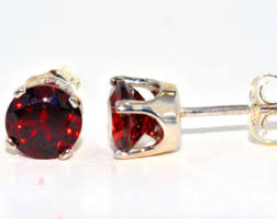 garnet stud earrings garnet stud earrings gold and stud earrings garnet and