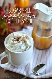 pumpkin spice for coffee sugar free pumpkin spice coffee syrup simply whisked