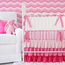 girls frilly bedding bedroom coral chevron baby bedding porcelain tile table lamps