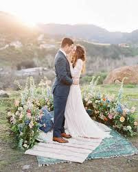 Wisteria Rugs A Bohemian Wedding Trend We U0027re Loving Ceremony Aisles With Rugs