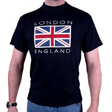 London Flag London Union Jack Flag T Shirt Also In Red
