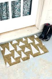 Outdoor Front Door Rugs Outdoor Front Door Rugs In Coir Out S Front Door Doorbell
