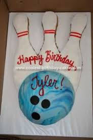 Diy Bowling Favors by 29 Best Bowling Birthday Cakes Images On Bowling