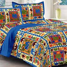 uniqchoice cotton king size bed sheet set bed sheets homeshop18