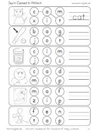 free phonics worksheets on short vowels cvc worksheets short a