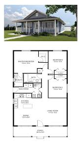 cool house plan id chp 46185 total living area 1260 sq ft 3