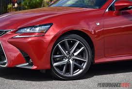 lexus sport car 2016 2016 lexus gs 200t f sport review video performancedrive