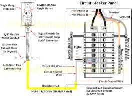 gfci wiring diagram feed through method to branch circuit
