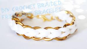 diy bracelet with chain images How to diy crochet braided chain bracelet jpg