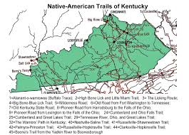 Map Of Kentucky And Ohio by Kentucky 1491 Trail Guide