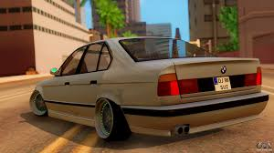bmw e34 stance bmw m5 e34 stance for gta san andreas