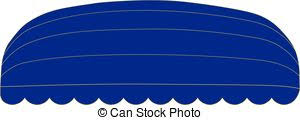 Blue Awning Vector Clip Art Of Dome Awning Vector Illustration Of A Dome