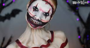 halloween makeup artists makeup artist transforms into american horror story u0027s twisty the