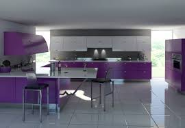 purple kitchens