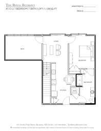 floor plans the royal belmont