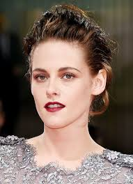 kristen stewart makes a strong case for a vy red lip