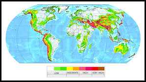 Earthquake Map Usgs Earthquake Risk Map My Blog