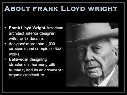 frank lloyd wright biography pdf frank lloyd wright