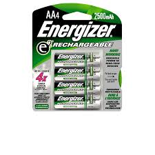 energizer rechargeable aa battery 4 pack meijer com