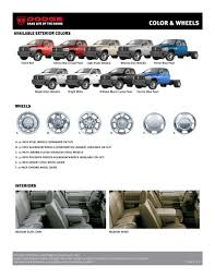Dodge Ram Colors - dodge ram 3500 chassis cab infosheet 2007 by dodge
