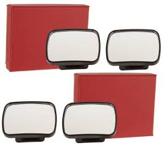 No Blind Spot Rear View Mirror Reviews Secureauto 2 Sets Of 2 Blind Spot Mirrors With Gift Boxes Page 1