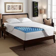 2 inch twin xl memory foam topper and mattress pad sleep innovations