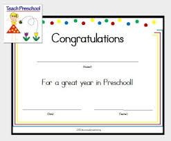 preschool certificates preschool certificate preschoolspot education teaching pre