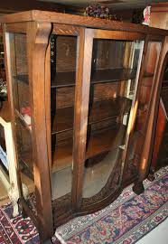 Curio Furniture Cabinet Fabulous Antique American Empire Bow Front China Cabinet Curio