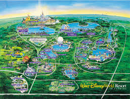 walt disney resort map wdw wall map walt disney walt disney map