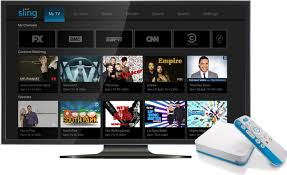 pics of a tv sling tv set to debut the airtv player which combines local