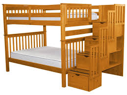 Bed Full Bunk Beds From 299 Stairway Bunk Beds 568 Bunk Bed King