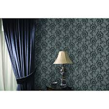 wall decor lace textured self adhesive tempaper wallpaper on
