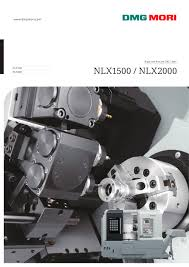 nlx1500 nlx2000 dmg mori pdf catalogue technical